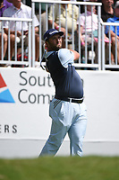 Jon Rahm (ESP) during the second round of The Tour Championship, East Lake Golf Club, Atlanta, Georgia, USA. 22/08/2019.<br /> Picture Ken Murray / Golffile.ie<br /> <br /> All photo usage must carry mandatory copyright credit (© Golffile | Ken Murray)