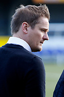 AFC Wimbledon manager, Neal Ardley seen during the Sky Bet League 1 match between AFC Wimbledon and Bristol Rovers at the Cherry Red Records Stadium, Kingston, England on 17 February 2018. Photo by Carlton Myrie.