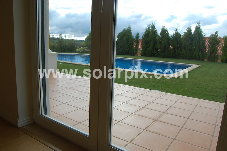 **ALL ROUND PICTURES FROM SOLARPIX.COM**.**SYNDICATION RIGHTS FOR UK AND SPAIN ONLY**.Zara Phillips, 28, daughter of Princess Anne, plans to build a holiday house in Torres Vedras, 40 kilometers north of Lisbon, Portugal. ..Together with her boyfriend, rugby player Mike Tindall, 31, she has bought a plot of land 1000m2 in The Vineyards, the name given to the second phase of Campo Real Golf Resort & Spa, which is an area of 75 hectares with project for 260 units of villas, apartments and townhouses. ..Residents in the area are mainly Portuguese, Irish and English, and there is an Equestrian Center nearby that certainly  motivated the choice of the location...According to sources from the resort, the investment is estimated in 800 thousand euros to build up a two-storey house. Zara Philips has not yet given any indication to details, such as decoration, security systems and home automation. Portugal 6 March 2010..This pic: Zara Phillips Holiday Home, showhome..JOB REF: 10880 PRT        DATE: 06_03_2010.**MUST CREDIT SOLARPIX.COM OR DOUBLE FEE WILL BE CHARGED**.**MUST NOTIFY SOLARPIX OF ONLINE USAGE**.**CALL US ON: +34 952 811 768 or LOW RATE FROM UK 0844 617 7637**
