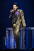 SUNRISE FL - AUGUST 17: Adam Lambert of Queen + Adam Lambert performs at The BB&T Center on August 17, 2019 in Sunrise, Florida. Photo by Larry Marano © 2019