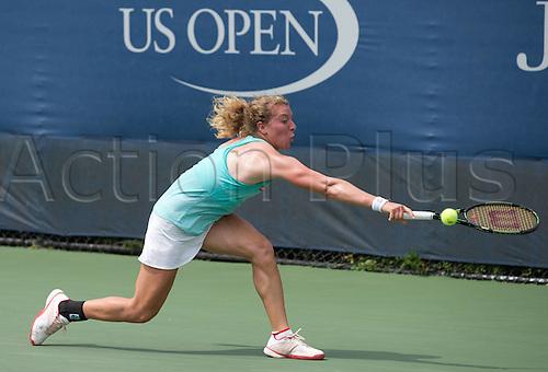 31.08.2015. New York, NY, USA.  Anna-Lena Friedsam (GER)U.S. Open 2015 Grand Slam ITF  WTA womens 1st round Flushing Meadows 31st August 2015
