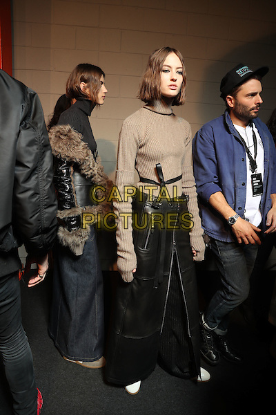 DIESEL BLACK GOLD<br /> at Milan Fashion Week FW 17 18<br /> in Milan, Italy  February 2017.<br /> CAP/GOL<br /> &copy;GOL/Capital Pictures