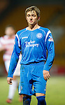 St Johnstone v Hamilton Accies....02.02.11  .Saints new loan signing Arvydas Novikovas.Picture by Graeme Hart..Copyright Perthshire Picture Agency.Tel: 01738 623350  Mobile: 07990 594431