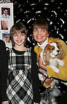 Sami Gayle (in Bway Gypsy - performed) and Supermodel Paulina Porizkova and puppy at the First Annual StarPet 2008 Awards Luncheon as dogs and cats compete for a career in showbusiness on November 10, 2008 at the Edison Ballroom, New York, New York. The event benefitted Bideawee and NY SAVE. (Photo by Sue Coflin/Max Photos