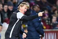 Bradford City manager Stuart McCall during the Sky Bet League 1 match between Bradford City and Northampton Town at the Northern Commercial Stadium, Bradford, England on 13 January 2018. Photo by Thomas Gadd.
