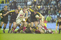 London. Great Britain, Wasps, Craig DOWD, breaks with the ball, during the Heineken Cup. London Wasps v Ulster Match, played at Loftus Road, West London. 06/01/2002.  [Mandatory Credit;  Peter Spurrier/Intersport Images]