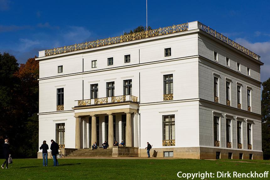Jenisch Haus im Jenischpark in Gro&szlig;-Flottbek, Hamburg, Deutschland<br /> Jenisch House in the Jenischpark, Gro&szlig;-Flottbek, Hamburg, Germany