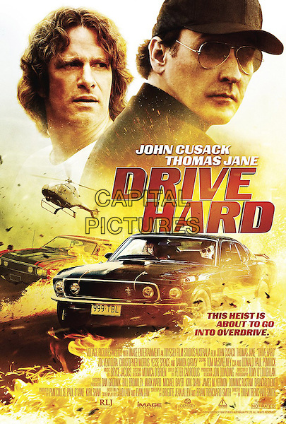 POSTER ART<br /> in Drive Hard (2014) <br /> *Filmstill - Editorial Use Only*<br /> CAP/FB<br /> Image supplied by Capital Pictures