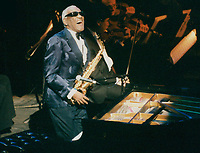 Ray Charles 1995<br /> Photo By John Barrett-PHOTOlink.net