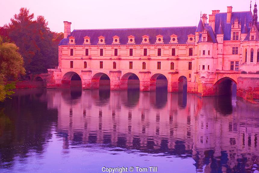 Chenonceau Castle                Loire Valley, France      16th century chateau built by  five women