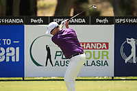 Marcus Fraser (AUS) in action on the 2nd during Round 1 of the ISPS Handa World Super 6 Perth at Lake Karrinyup Country Club on the Thursday 8th February 2018.<br /> Picture:  Thos Caffrey / www.golffile.ie<br /> <br /> All photo usage must carry mandatory copyright credit (&copy; Golffile | Thos Caffrey)