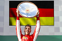 VETTEL Sebastian (ger), Scuderia Ferrari SF71H, portrait podium during 2018 Formula 1 championship at Melbourne, Australian Grand Prix, from March 22 To 25 - Photo : FIA Formula One World Championship <br /> Melbourne Australia 25-03-2018 Formula 1 GP <br /> Foto Imago/Insidefoto