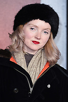 """Lily Cole<br /> arriving for the Royal Film Premiere of """"1917"""" in Leicester Square, London.<br /> <br /> ©Ash Knotek  D3543 04/12/2019"""