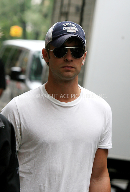 WWW.ACEPIXS.COM . . . . .  ....July 13 2010, New York City....Actor Chase Crawford on the Upper West Side set of the new season of the hit show 'Gossip Girl' on July 13 2010 in New York City....Please byline: PHILIP VAUGHAN - ACE PICTURES.... *** ***..Ace Pictures, Inc:  ..Philip Vaughan (212) 243-8787 or (646) 679 0430..e-mail: info@acepixs.com..web: http://www.acepixs.com