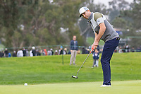 26th January 2020, Torrey Pines, La Jolla, San Diego, CA USA;  Chris Baker puts during the final round of the Farmers Insurance Open at Torrey Pines Golf Club on January 26, 2020 in La Jolla, California.