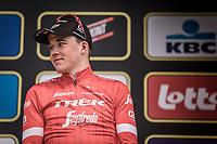 Podium: <br /> <br /> 2nd place finisher Mads Pedersen (DEN/Trek Segafredo)<br /> <br /> <br /> <br /> 102nd Ronde van Vlaanderen 2018<br /> 1day race: Antwerp &rsaquo; Oudenaarde - BEL (265k)