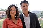 Cristina Plazas and Oriol Tarrason at the presentation of the new Atresmedia TV series, 'El Nudo' on July 18, 2019 in Madrid, Spain. (ALTERPHOTOS/ItahisaHernadez)
