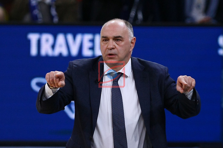 Turkish Airlines Euroleague.<br /> Final Four - Vitoria-Gasteiz 2019.<br /> Semifinals.<br /> CSKA Moscow vs Real Madrid: 95-90.<br /> Pablo Laso.