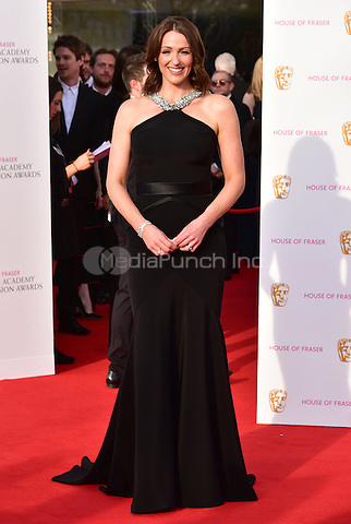 LONDON, ENGLAND - MAY 08: Suranne Jones at he British Academy (BAFTA) Television Awards 2016, Royal Festival Hall, Belvedere Road, London, England, UK, on Sunday 08 May 2016.<br /> CAP/JOR<br /> &copy;JOR/Capital Pictures /MediaPunch ***NORTH AMERICA AND SOUTH AMERICA ONLY***