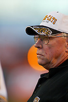 Ron Lancaster HamiltonTiger Cats head coach. Copyright photograph Scott Grant