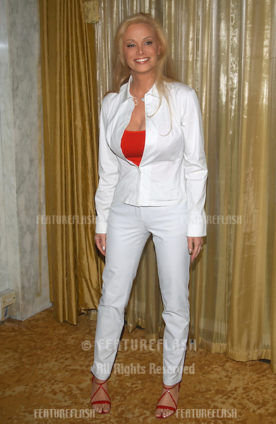 Actress CINDY MARGOLIS at the 5th annual Lullabies & Luxuries Luncheon to benefit Caring for Children & Families with AIDS, at the Regent Beverly Wilshire Hotel, Beverly Hills..Oct 12, 2003