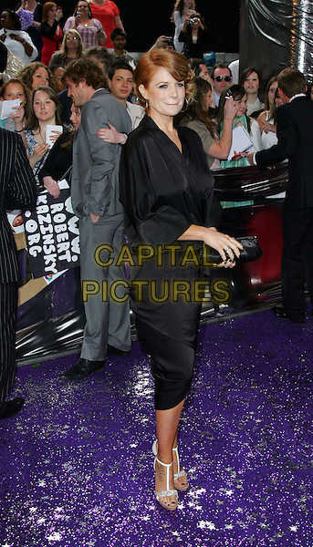 PATSY PALMER .British Soap Awards 2008, held at the BBC Studios, London, England, UK,  May 3rd 2008..full length black kimono style dress clutch bag silver shoes .CAP/ROS.©Steve Ross/Capital Pictures