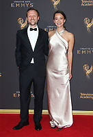 LOS ANGELES, CA - SEPTEMBER 09: Orlando von Einsiedel, Joanna Natasegara, at the 2017 Creative Arts Emmy Awards at Microsoft Theater on September 9, 2017 in Los Angeles, California. <br /> CAP/MPIFS<br /> &copy;MPIFS/Capital Pictures