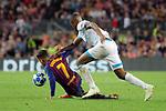 UEFA Champions League 2018/2019 - Matchday 1.<br /> FC Barcelona vs PSV Eindhoven: 4-0.<br /> Denzel Dumfries vs Philippe Coutinho.