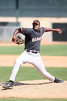 Mario Rodriguez, San Francisco Giants 2010 minor league spring training..Photo by:  Bill Mitchell/Four Seam Images.