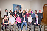 LEARNERS: The Tralee branch of the National Leaners held their Christmas party in The Carlton Hotel, Tralee oN Friday night. Front l-r: Linda Bound, Peter Bound, Justin Dineen, Gerard Heaslip, Mary O'Sullivan and David Horgan. Back were, Tommy O'Carroll, Tamara Jantolildes, Sinead casey, Nina Hayes, David Coffey, Anne Finnegan, Patricia Godley, Patricia Lucid, Sheila Quinlan, Moss Kelliher, Lynda Coffey and Tommy Lyons.. . ............................... ..........