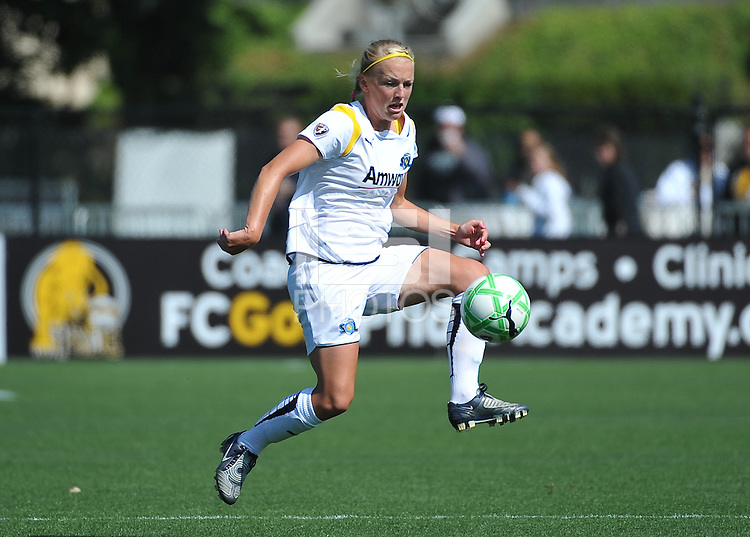 Katie Larkin. The Los Angeles Sol defeated FC Gold Pride, 2-0, at Buck Shaw Stadium in Santa Clara, CA on May 24, 2009.