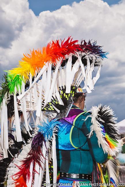 The annual Taos Pow-Wow,  each year in early July,  is attended not only by dancers from different tribes of New Mexico but by  participants from many other states as well.