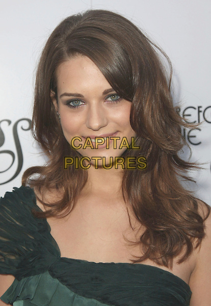 "LYNDSY FONSECA .""Remember The Daze"" Los Angeles Premiere held at the Egyptian Theater, Hollywood, California, USA, .08 April 2008..portrait headshot one shoulder .CAP/ADM/CH.©Charles Harris/Admedia/Capital PIctures"