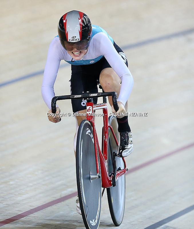 at the Skoda Elite & U19 Track National Championships at the Avantidrome, Cambridge, New Zealand, Sunday, February 01, 2015. Photo: Dianne Manson /NINZ