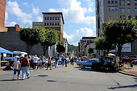 Car show and downtown Wheeling, W.V.