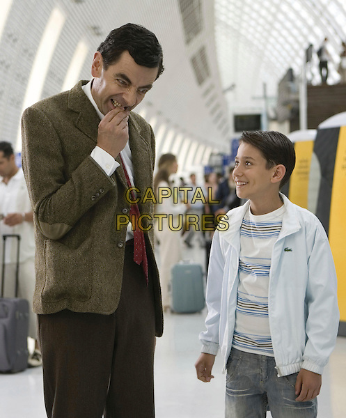 ROWAN ATKINSON & MAX BALDRY.in Mr. Bean's Holiday .**Filmstill - Editorial Use Only**.CAP/FB.Supplied by Capital Pictures