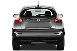 Straight Rear View 2011 Nissan Juke SV SUV Stock Photo