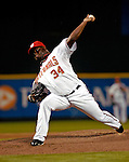 16 May 2007: Washington Nationals pitcher Ray King on the mound against the Atlanta Braves at RFK Stadium in Washington, DC. The Nationals rallied to defeat the Braves 6-4 to take a 2-1 lead in their four-game series...Mandatory Photo Credit: Ed Wolfstein Photo