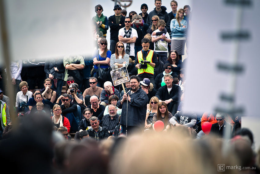 A great motivational speech from Gino Acevedo.<br /> <br /> Around 1000 supporters attended The Hobbit Rally at Civic Square in Wellington. The rally was in aid of convincing Warner Bros that The Hobbit has the support of the people of New Zealand &amp; further afield, &amp; it should be made here &amp; not go overseas.<br /> <br /> Two days after the rally it was announced by Prime Minister John Key, that talks with Warner Bros were successful &amp; The Hobbit will be filmed in New Zealand.