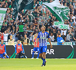 10.09.2017, OLympiastadion, Berlin, GER, 1.FBL, Hertha BSC VS. SV Werder Bremen, im Bild <br /> Niklas Stark (Hertha BSC Berlin #5)<br /> <br /> <br />       <br /> Foto &copy; nordphoto / Engler