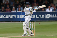 Keshav Maharaj in batting action for Yorkshire during Essex CCC vs Yorkshire CCC, Specsavers County Championship Division 1 Cricket at The Cloudfm County Ground on 7th July 2019
