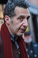 NEW YORK, NY - NOVEMBER 17: John Turturro on the set of the film Fading Gigolo in New York City. November 17, 2012. Credit MediaPunch Inc. NortePhoto