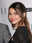 "Victoria Justice attends the ELLE and Express ""25 at 25"" Event held at The Palihouse Holloway in West Hollywood, California on October 07,2010                                                                               © 2010 Hollywood Press Agency"