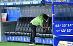 Desinfzieren der Ersatzbank im Volksparkstadion<br />Hamburg, 28.06.2020, Fussball 2. Bundesliga, Hamburger SV - SV Sandhausen<br />Foto: VWitters/Witters/Pool//via nordphoto<br /> DFL REGULATIONS PROHIBIT ANY USE OF PHOTOGRAPHS AS IMAGE SEQUENCES AND OR QUASI VIDEO<br />EDITORIAL USE ONLY<br />NATIONAL AND INTERNATIONAL NEWS AGENCIES OUT