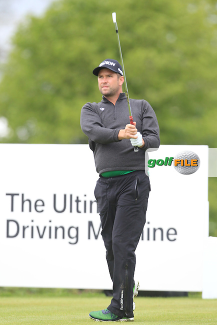 James Busby (ENG) during Thursday's Round 1 ahead of the 2016 Dubai Duty Free Irish Open Hosted by The Rory Foundation which is played at the K Club Golf Resort, Straffan, Co. Kildare, Ireland. 19/05/2016. Picture Golffile | TJ Caffrey.<br /> <br /> All photo usage must display a mandatory copyright credit as: &copy; Golffile | TJ Caffrey.