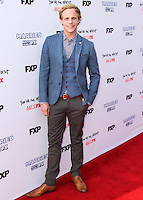 HOLLYWOOD, LOS ANGELES, CA, USA - JULY 14: Chris Geere at the Los Angeles Premiere Of FX's 'You're The Worst' And 'Married' held at Paramount Studios on July 14, 2014 in Hollywood, Los Angeles, California, United States. (Photo by Xavier Collin/Celebrity Monitor)