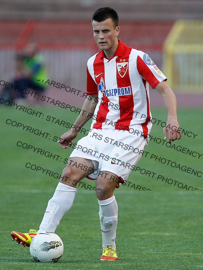 Fudbal, Jelen super liga, sezona 2011/12.Crvena Zvezda Vs. Jagodina.Jovan Krneta.Belgrade, 28.04.2012..foto: Srdjan Stevanovic/Starsportphoto ©