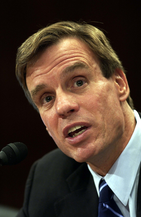 06/15/05.FUTURE OF MEDICAID--Virginia Gov. Mark Warner during the Senate Finance hearing on the future of Medicaid..CONGRESSIONAL QUARTERLY PHOTO BY SCOTT J. FERRELL