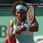 Serena Williams (USA) suffers stunning loss to Virginie Razanno (FRA).  Razanno won, 4-6, 7-6, 6-3.