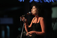 Sonia Stein, performs at the National Waterfront Museum in Swansea, Wales, UK. 23 November 2017